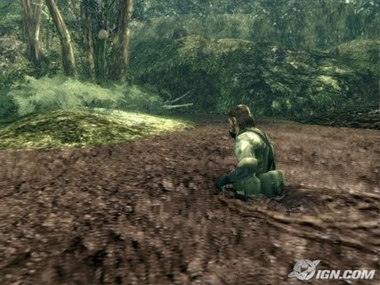 Metal Gear Solid 3 Quicksand Alligator