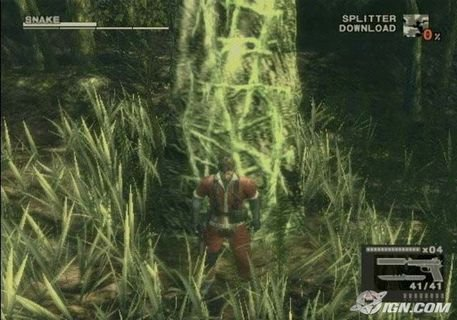 Metal Gear Solid 3 Snake Climbing Tree