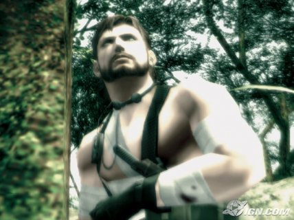 Metal Gear Solid 3 Snake Injured