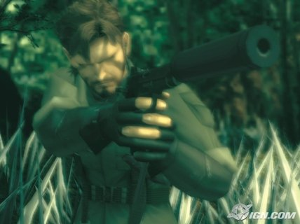 Metal Gear Solid 3 Snake Silenced Pistol
