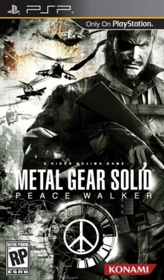 Metal Gear Solid Peace Walker Cover