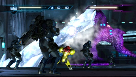 Metroid Other m Freeze