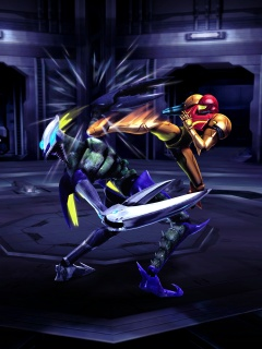 Metroid Other m Kick
