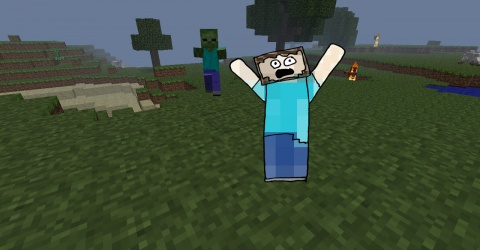 Minecraft Paul Abbamondi run Away