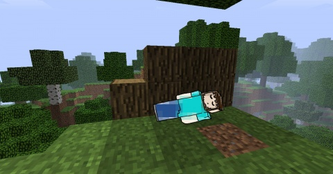 Minecraft Paul Abbamondi Sleeping