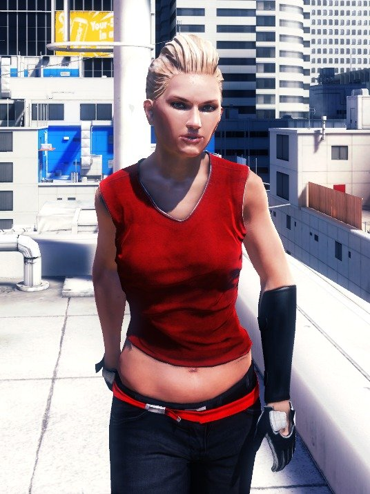 Mirrors Edge Celeste Profile