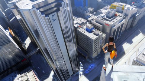 Mirrors Edge Faith Colorful City