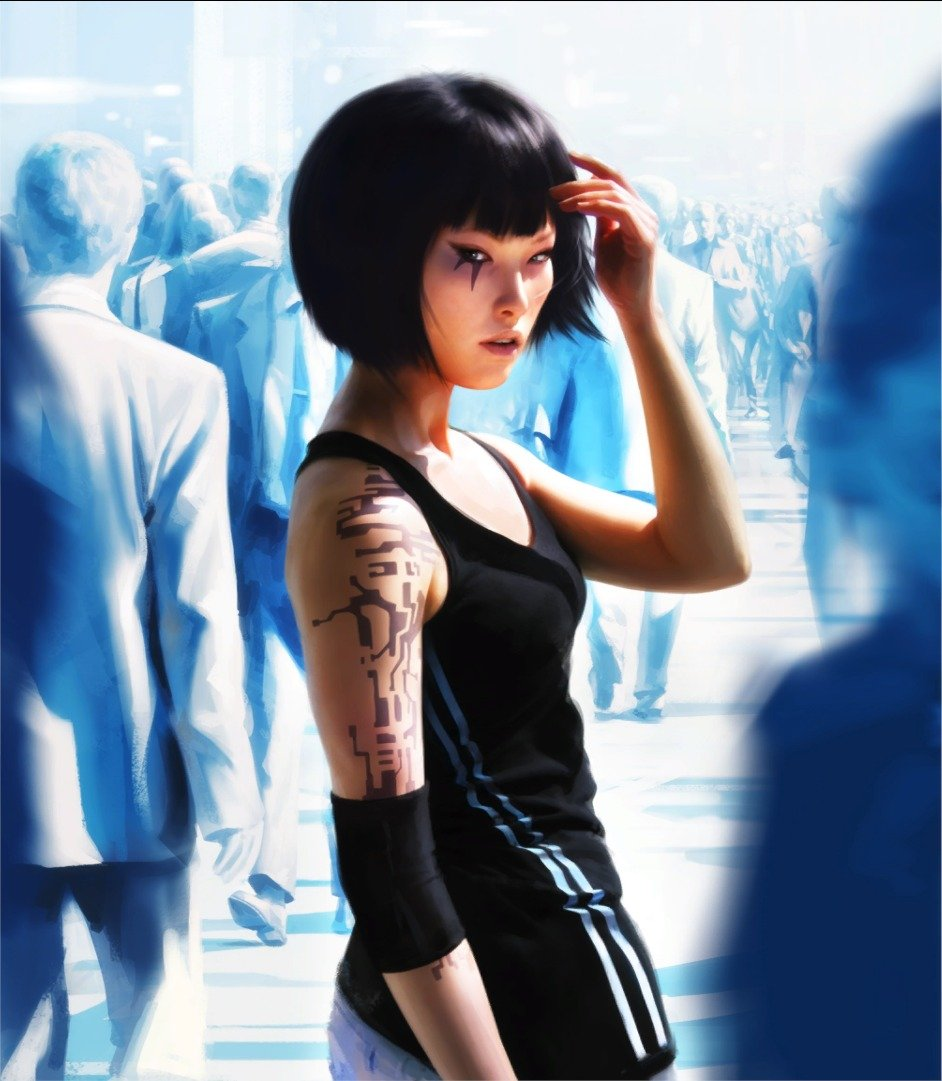 Mirrors Edge Faith Profile Ponder