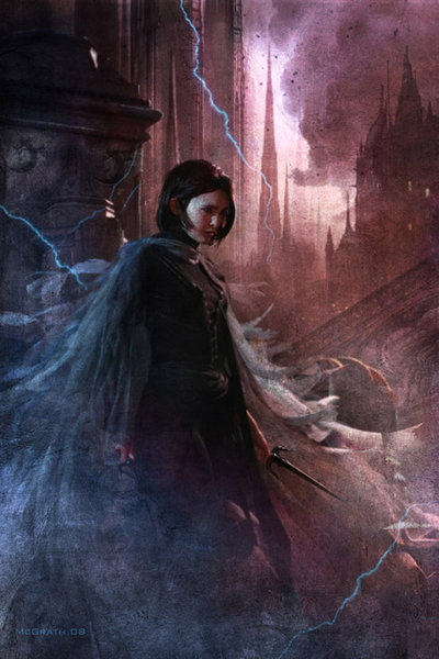 Mistborn Vin Christian McGrath Art