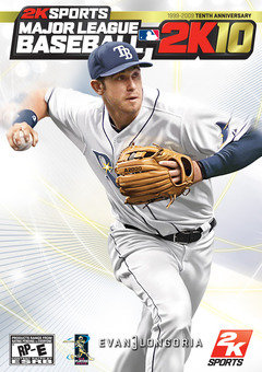 Major League Baseball 2K10 Cover