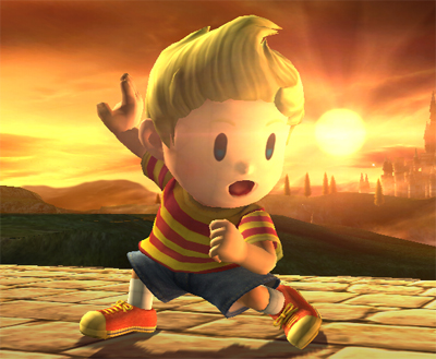 Mother 3 Lucas Super Smash Bros Brawl