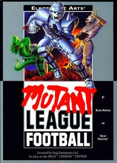 Mutant League Football Cover