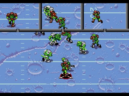 Mutant League Football Monster Bashers Passing