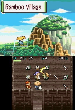 Mystery Dungeon Shiren Bamboo Village Shop Steal