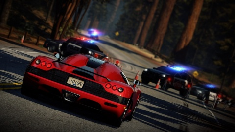 Need for Speed hot Pursuit Police Block