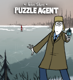 Nelson Tethers Puzzle Agent Cover