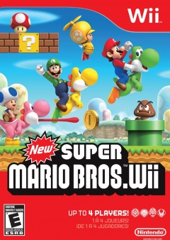 new Super Mario Bros wii Cover