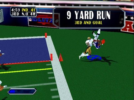 Nfl Blitz Super Bowl Colts Saints Big Tackle