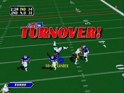 Nfl Blitz Super Bowl Colts Saints Matrix Interception