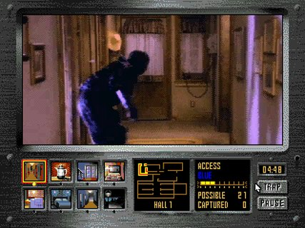 Night Trap Creeping Vampire Auger
