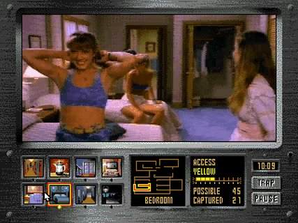 Night Trap Dana Plato Sports Bra Bedroom