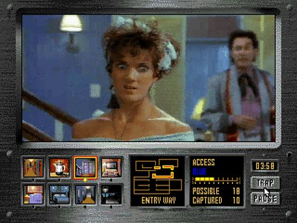 Night Trap Hilarious Face