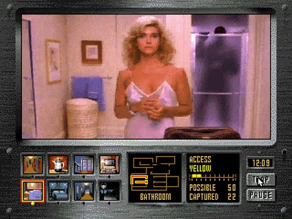 Night Trap Infamous Bathroom Scene Auger In Shower