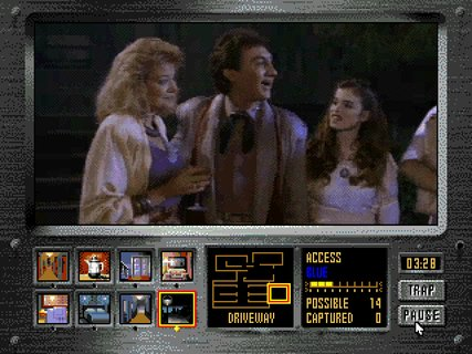 Night Trap Martin Family Sarah