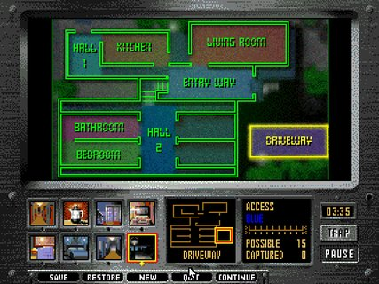 Night Trap Martin Home Layout