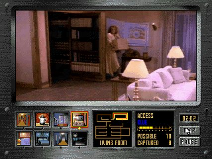 Night Trap Suspicious Mother Rotating Bookcase
