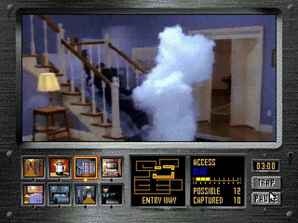 Night Trap Vampires Augers Sliding Stairs