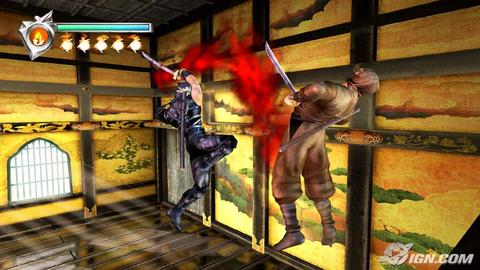 Ninja Gaiden Xbox Ryu Brown Blood Gore