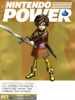 Nintendo Power 257 Cover
