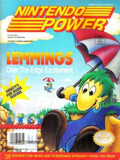 Nintendo Power 37 Cover