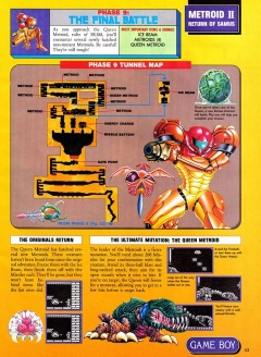 Nintendo Power 37 Metroid 2 Final Battle