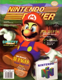 Nintendo Power 85 Cover
