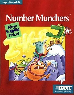 Number Munchers Cover