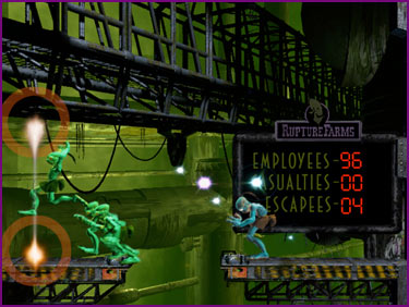 Oddworld Abes Oddysee Casualties Escapes