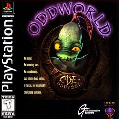 Oddworld Abes Oddysee Cover