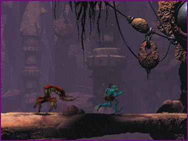 Oddworld Abes Oddysee Scorpion Run Away