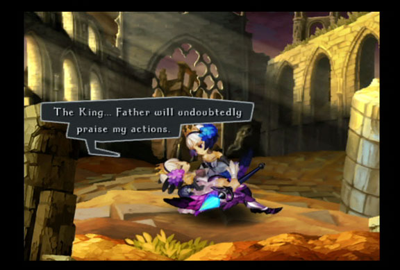 Odin Sphere Gwendolyn Dying Sister