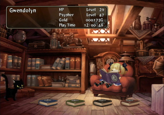 Odin Sphere Little Girl Book Cat