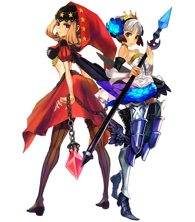 Odin Sphere Velvet Gwendolyn Art