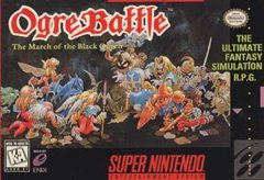 Ogre Battle: March of the Black Queen Cover