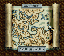 Ogre Battle World Map Zeteginea Age Castle Of Warren