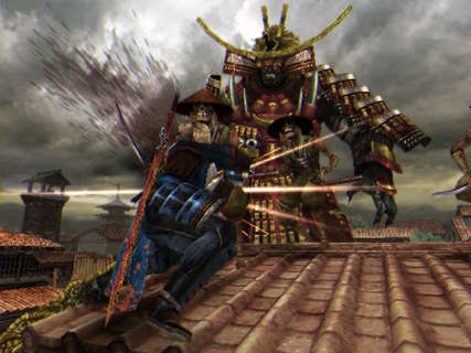 Onimusha Dawn Of Dreams Soki Colossus Giant
