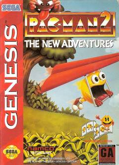 Pac-Man 2: The New Adventures Cover