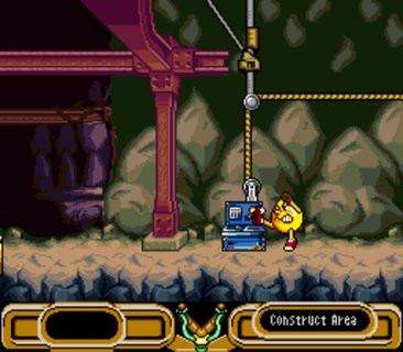 Pac Man 2 Mine Angry Machine Kick