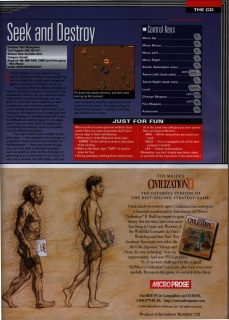 pc Gamer June 1996 Civilization 2 ad