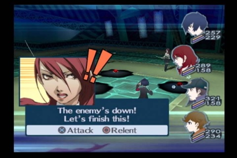 Persona 3 fes Battle all out Attack